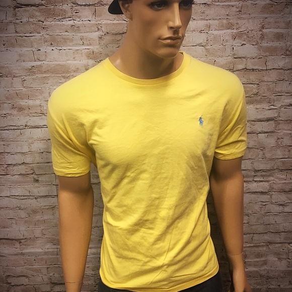 cf40c74b Men's Polo Ralph Lauren Canary Yellow T Shirt XL. M_5b7bd01174359b3379c8303a